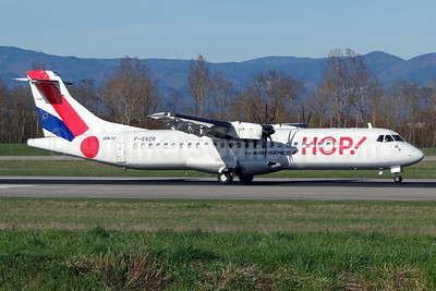 Hop! For Air France ATR 72-212A (ATR 72-500) F-GVZR (msn 498) BSL (Paul Bannwarth). Image: 911774.