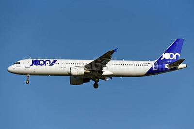 Joon (Air France) Airbus A321-212 (msn 3441) LHR (Rolf Wallner). Image: 948285.