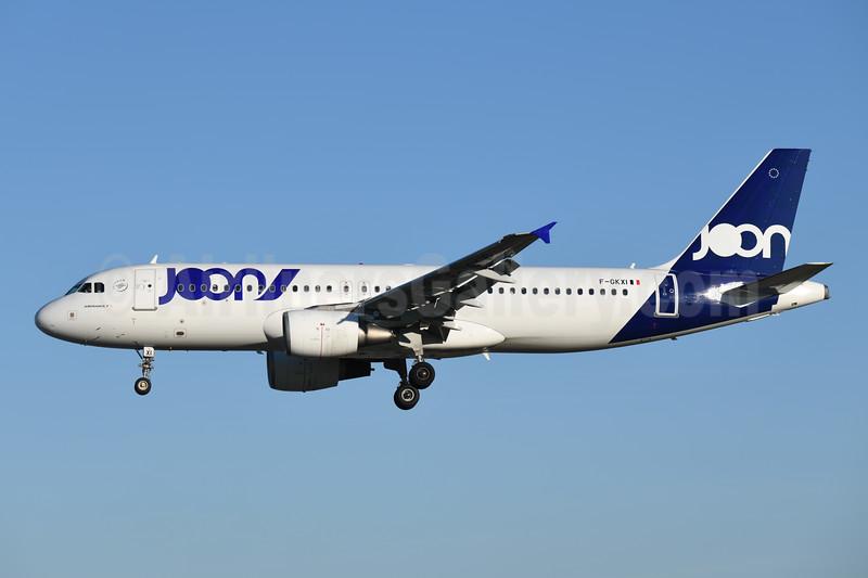 Joon (Air France) Airbus A320-214 F-GKXI (msn 1949) LIS (Ton Jochems). Image: 946800.