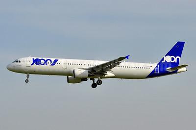 Joon (Air France) Airbus A321-211 F-GTAS (msn 3419) BCN (Tony Storck). Image: 941918.
