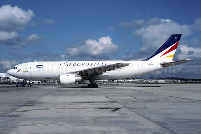 L'Aeropostale Airbus A300B4-103 (F) F-GOZA (msn 148) CDG (Christian Volpati). Image: 945464.