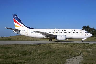 L'Aeropostale Boeing 737-33A (QC) F-GIXB (msn 24789) CDG (Christian Volpati). Image: 946198.