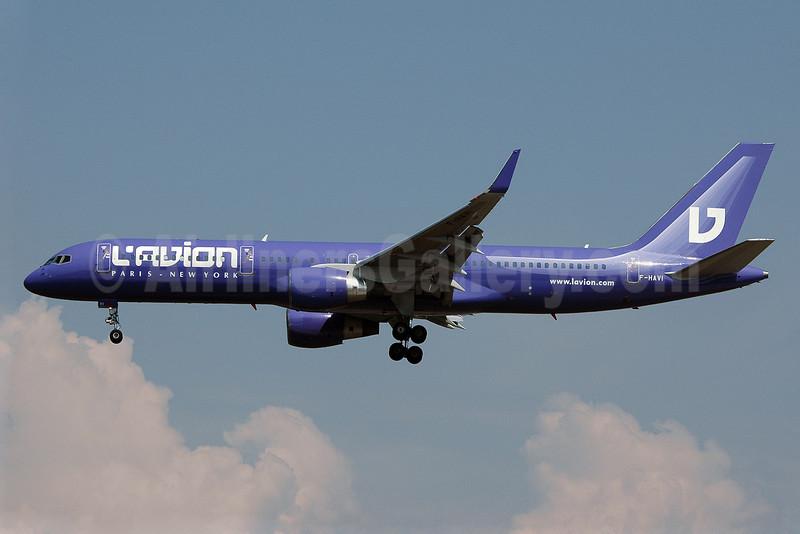 L'Avion Boeing 757-230 WL F-HAVI (msn 24473) FRA (Nik French). Image: 900216.