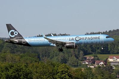 La Compagnie Airbus A321-251NX WL F-HNCO (msn 9131) ZRH (Andi Hiltl). Image: 953921.