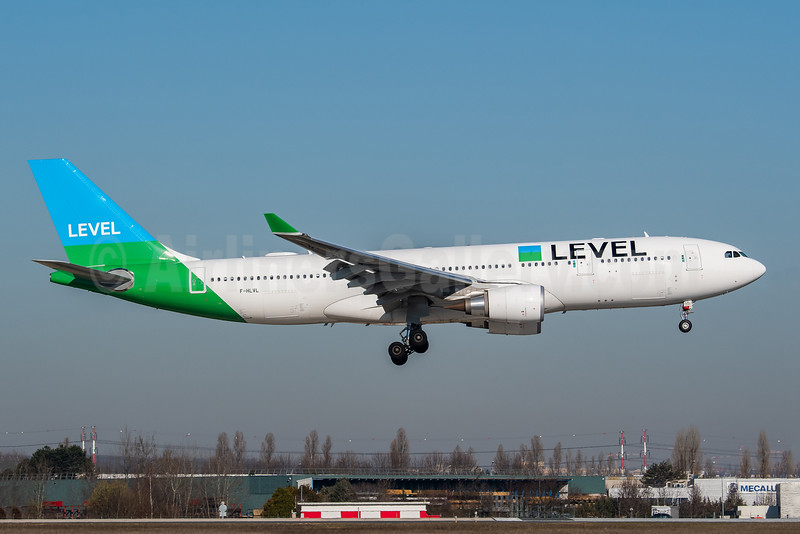 Level (France) Airbus A330-202 F-HLVL (msn 1864) ORY (Wingnut). Image: 946106.