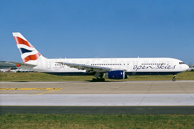 The first Boeing 767 for OpenSkies, delivered on August 18, 2016, ex G-BNWI