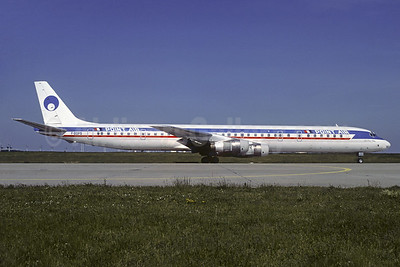 Point Air McDonnell Douglas DC-8-61 F-GDPS (msn 45981) (Capitol colors) ORY (Jacques Guillem). Image: 920631.