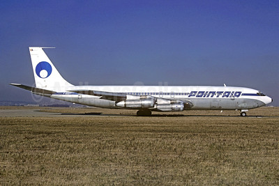 Point Air Boeing 707-321B F-BSGT (msn 18837) ORY (Jacques Guillem). Image: 920630.