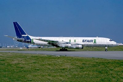 SFAir McDonnell Douglas DC-8F-55 Jet Trader F-BUOR (msn 45862) (UTA colors) ORY (Jacques Guillem). Image: 950435.