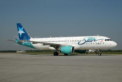 Star Airlines (France) Airbus A320-214 F-GRSD (msn 653) EIN (Ton Jochems). Image: 955364.
