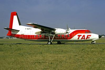 TAF (Taxi Avia France) Fokker F.27 Mk. 200 F-BUFU (msn 10228) LBG (Christian Volpati). Image: 900803.