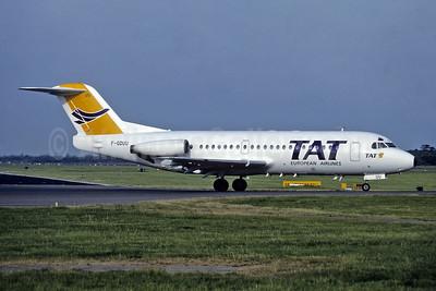 TAT European Airlines Fokker F.28 Mk. 2000 F-GDUU (msn 11108) (Richard Vandervord). Image: 945564.