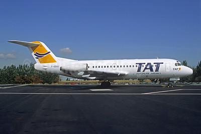 TAT European Airlines Fokker F.28 Mk. 2000 F-GDUU (msn 11108) CDG (Christian Volpati). Image: 944145.