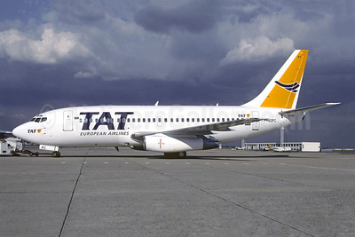 TAT European Airlines (3rd) Boeing 737-204C F-GGPC (msn 20282) ORY (Jacques Guillem). Image: 946459.
