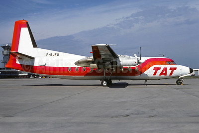 TAT (Touraine Air Transport) (1st) Fokker F.27 Mk. 200 F-BUFU (msn 10228) ORY (Christian Volpati). Image: 937148.