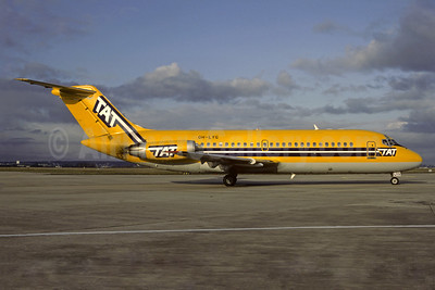 TAT (Touraine Air Transport) (1st) McDonnell Douglas DC-9-14 OH-LYG (msn 45730) ORY (Christian Volpati). Image: 904420.