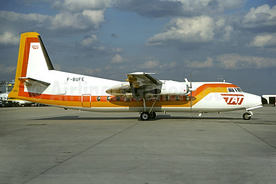 TAT (Touraine Air Transport) (1st) Fokker F.27 Mk. 200 F-BUFE (msn 10243) ORY (Christian Volpati). Image: 902416.