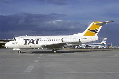 TAT (Transport Aerien Transregional) (2nd) Fokker F.28 Mk. 1000 F-GIMH (msn 11003) ORY (Jacques Guillem). Image: 945566.