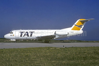 TAT (Transport Aerien Transregional) (2nd) Fokker F.28 Mk. 2000 F-GDUT (msn 11091) ORY (Jacques Guillem). Image: 944144.