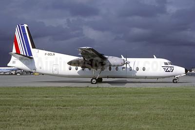 TAT (Transport Aerien Transregional) (2nd) Fairchild FH-227B F-GCLN (msn 527) (Air France tail) ORY (Jacques Guillem). Image: 946457.