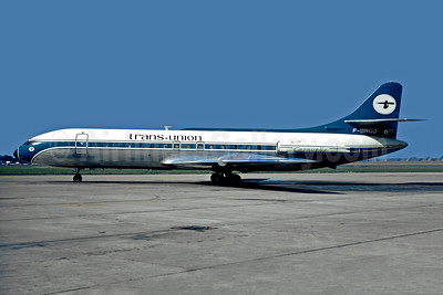 Trans-Union Airlines Sud Aviation SE.210 Caravelle 3 F-BRUJ (msn 209) LBG (Christian Volpati). Image: 948802.