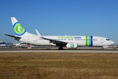 Transavia.com (Transavia France) Boeing 737-8K2 WL F-GZHC (msn 29651) PMI (Ton Jochems). Image: 939612.