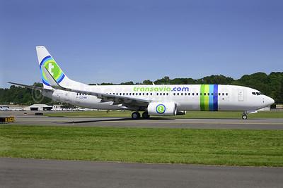 Transavia.com (Transavia France) Boeing 737-8K2 WL F-GZHM (msn 33792) BFI (Steve Bailey). Image: 922823.