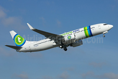 Transavia.com (Transavia France) Boeing 737-8K2 WL F-GZHC (msn 29651) BFI (Joe G. Walker). Image: 903636.