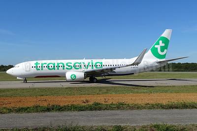 Transavia (France) Boeing 737-8K2 WL F-HTVC (msn 62150) NTE (Paul Bannwarth). Image: 937610.