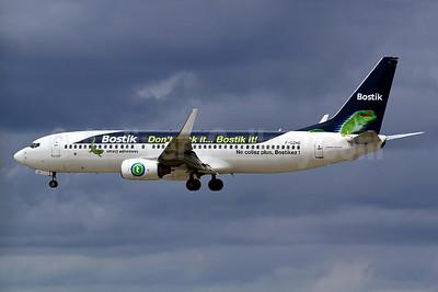 Transavia France's Bostik logo jet