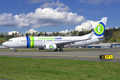 Transavia.com (Transavia France) Boeing 737-8K2 WL N5573L (F-GZHL) (msn 33791) BFI (Steve Bailey). Image: 922770.