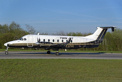 Twin Jet Beech (Raytheon) 1900D F-GTVC (msn UE-349) ZRH (Rolf Wallner). Image: 941643.