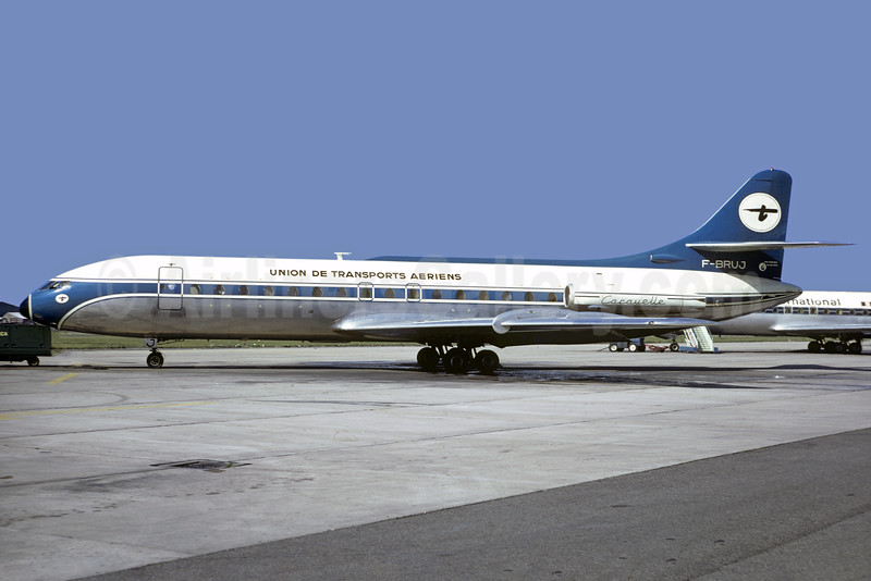 Union de Transports Aeriens (UTA) Sud Aviation SE.210 Caravelle 3 F-BRUJ (msn 209) (Trans Union colors) LBG (Christian Volpati). Image: 928143.