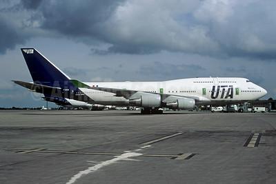 UTA (Union de Transportes Aeriens) Boeing 747-4B3 F-GEXB (msn 24155) CDG (Christian Volpati). Image: 943784.