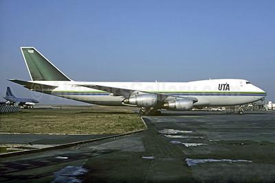 UTA (Union de Transportes Aeriens) Boeing 747-2B3F F-GPAM (msn 21515) (Saudia colors) CDG (Christian Volpati). Image: 907794.