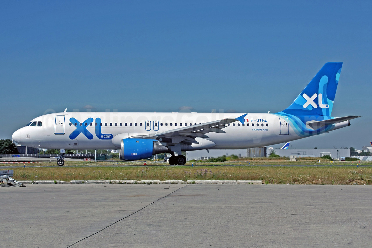 XL.com (XL Airways France) Airbus A320-212 F-GTHL (msn 189) CDG (Christian Volpati). Image: 904595.