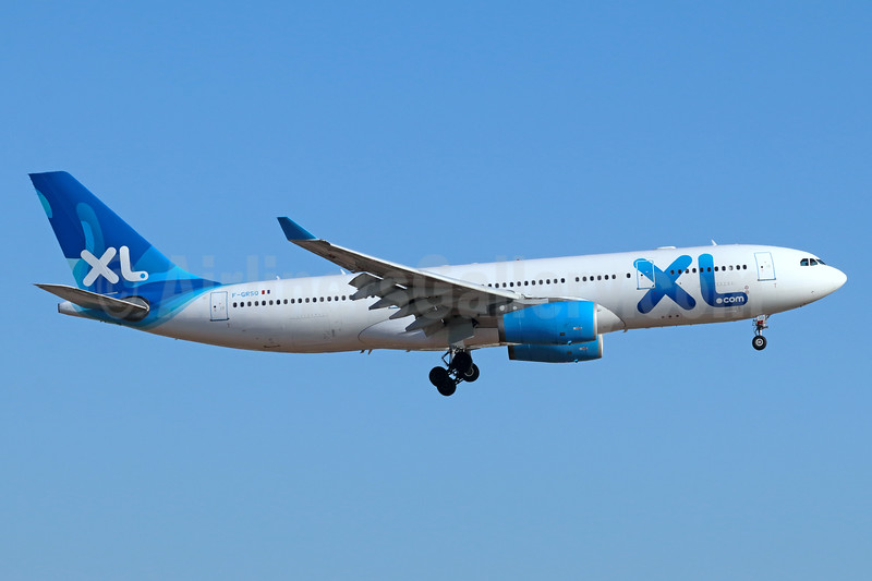 XL Airways France (XL.com) Airbus A330-243 F-GRSQ (msn 501) LAX (Michael B. Ing). Image: 945170.