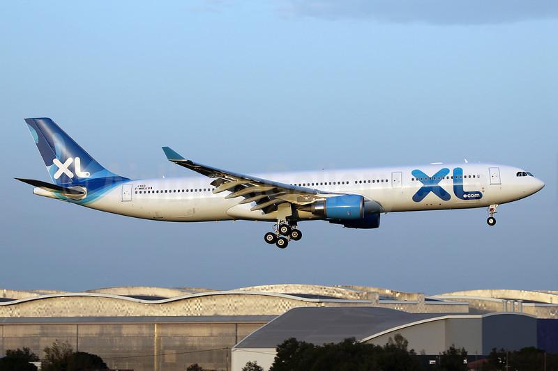 XL Airways France (XL.com) Airbus A330-303 F-WWKA (F-HXLF) (msn 1360) TLS (Eurospot). Image: 909826.