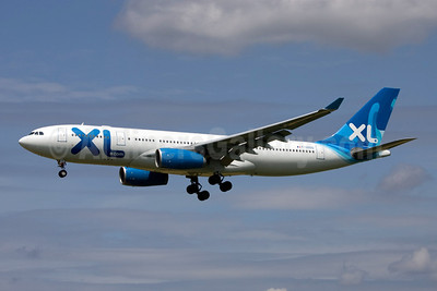 XL Airways France (XL.com) Airbus A330-243 F-GRSQ (msn 501) BRU (Rainer Bexten). Image: 907197.