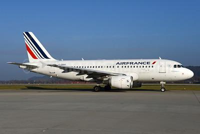 Air France Airbus A319-111 F-GRHV (msn 1505) ZRH (Rolf Wallner). Image: 935816.