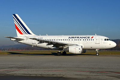 Air France Airbus A318-111 F-GUGC (msn 2071) ZRH (Rolf Wallner). Image: 936036.