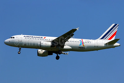 Air France Airbus A320-214 F-GKXJ (msn 1900) (Paris-Candidate City 2024 Olympic Games) CDG (Manuel Negrerie). Image: 938050.
