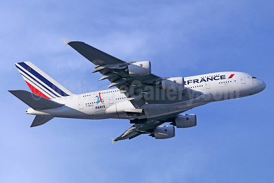 Air France's Paris - Candidate City logo