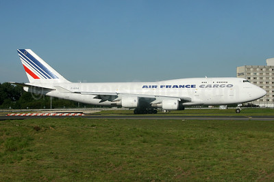 Air France Cargo Boeing 747-428 (F) F-GISA (msn 25238) CDG (SM Fitzwilliams Collection). Image: 937231.