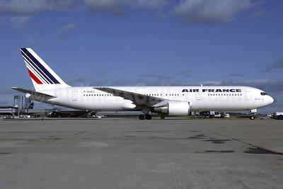 Air France Boeing 767-328 ER F-GHGJ (msn 27136) CDG (Christian Volpati). Image: 946031.