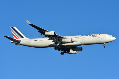 Air France Airbus A340-313 F-GLZJ (msn 186) BSL (Paul Bannwarth). Image: 936299.