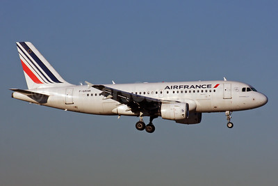 Air France Airbus A319-111 F-GRHR (msn 1415) LHR (SPA). Image: 938522.