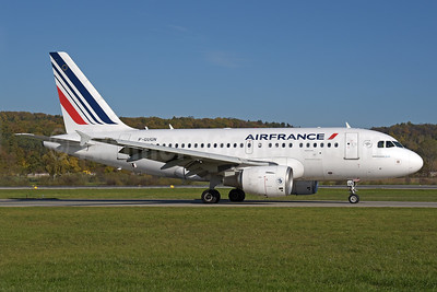 Air France Airbus A318-111 F-GUGN (msn 2918) ZRH (Rolf Wallner). Image: 939752.