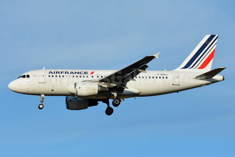 Air France Airbus A319-111 F-GRHJ (msn 1176) TLS (Paul Bannwarth). Image: 935818.