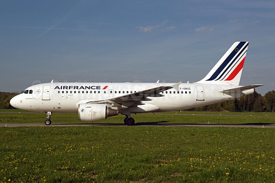 Air France Airbus A319-111 F-GRXC (msn 1677) ZRH (Rolf Wallner). Image: 941674.